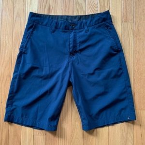 Blue quicksilver golf shorts